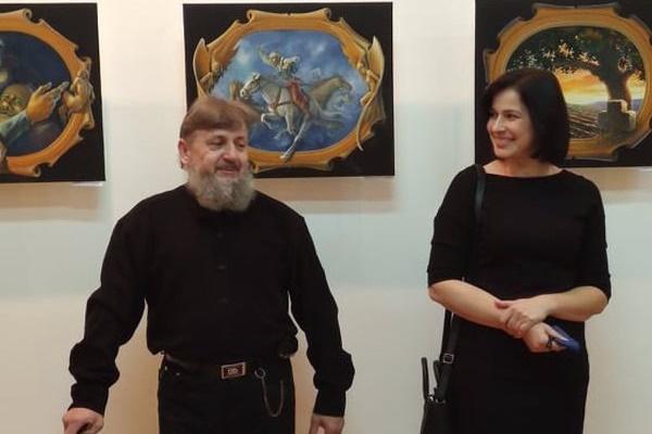 У Тернопільському краєзнавчому музеї відкрилась виставка  «Гармонія контрастів»