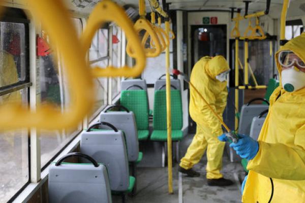 Чи курсуватиме громадський транспорт у Тернополі на час карантину вихідного дня