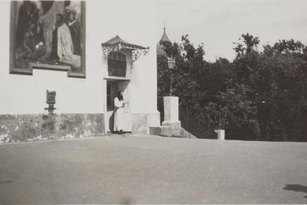 Почаївська Лавра на фото 1930-х років