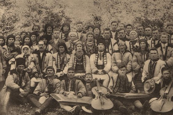 Мельниця-Подільська на ретро фото