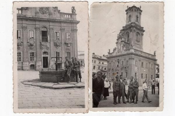 Світлини старого Бучача, де перед ратушою б'є фонтан – виклали у соцмережі