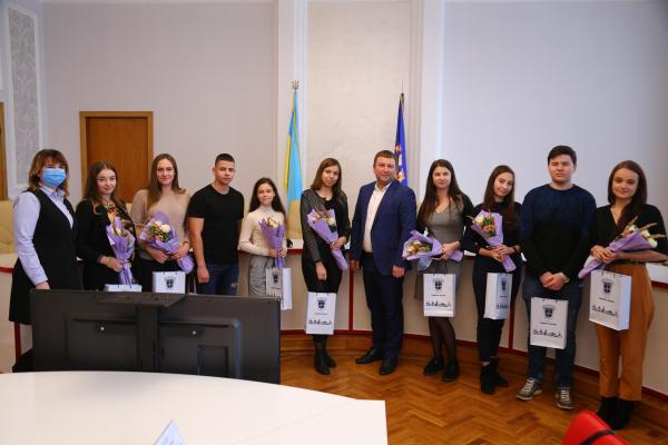 Голова ОДА зустрівся з кращими студентами вишів Тернополя