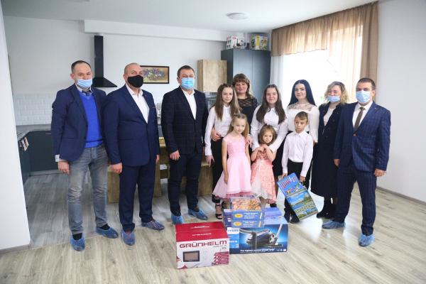На Тернопільщині відкрили ще один будинок сімейного типу