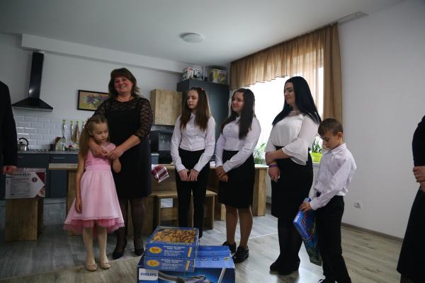 На Тернопіллі відкрили будинок сімейного типу