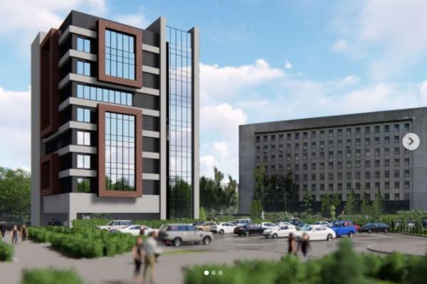 У центрі Тернополя планують звести 8-поверхівку для суду