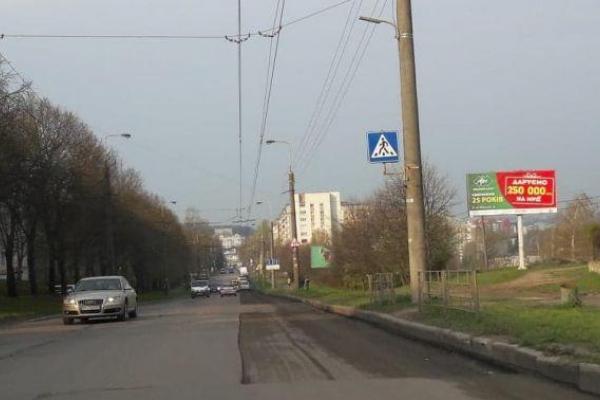 Сьогодні частково перекриють рух транспорту на вул. Тарнавського