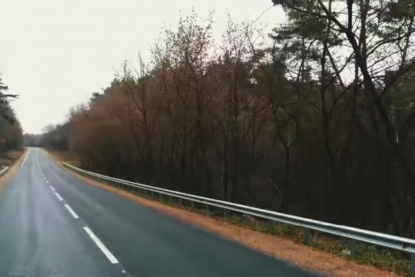 Нанесли розмітку на 11,6 км відновленої дороги Р-39 (Відео)