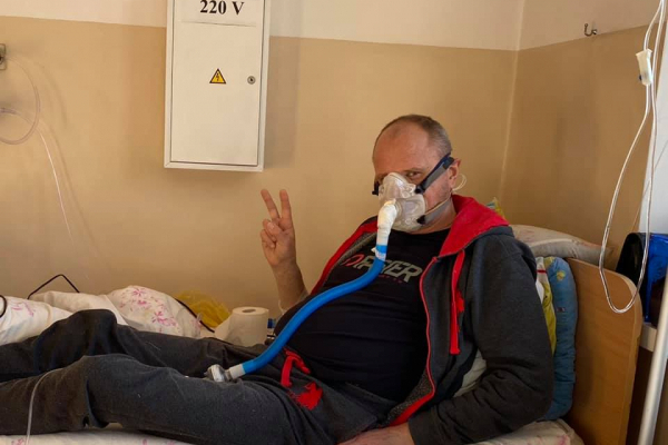 COVID-19: тернополянин помер під дверми інфекційного відділення