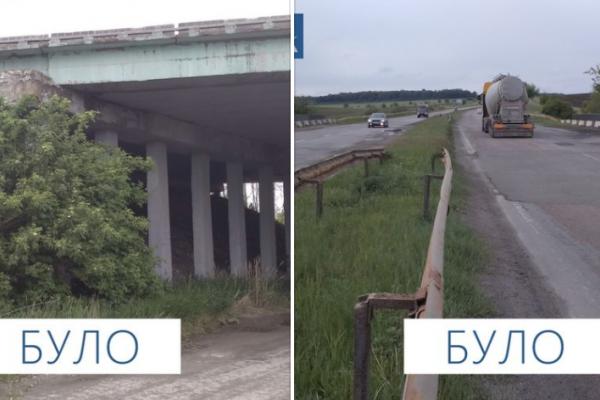 Вперше за 30 років відремонтували шляхопровід на трасі М-19