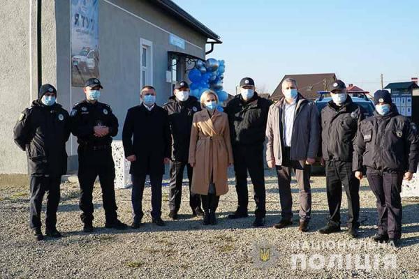 В одній із громад Тернопільщини відкрили поліцейську станцію