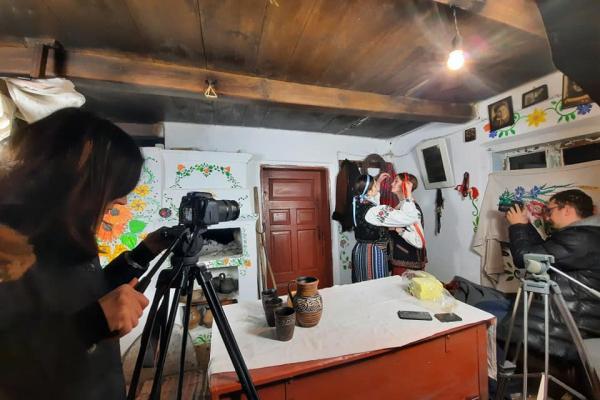 В одному із сіл Тернопільщини знімають фільм (Відео)