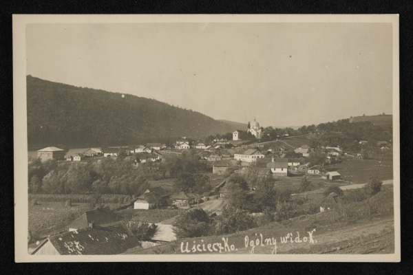 Тернопільщина туристична: Село Устечко на ретро фото
