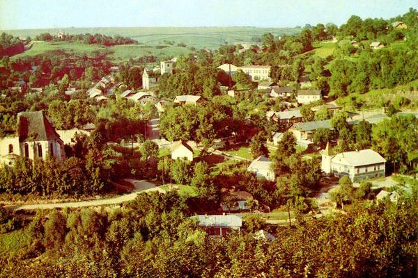 Мальовнича Тернопільщина на фото 1980-х років
