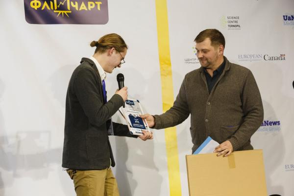 У Тернополі нагородили переможців конкурсу «Золотий фліпчарт»