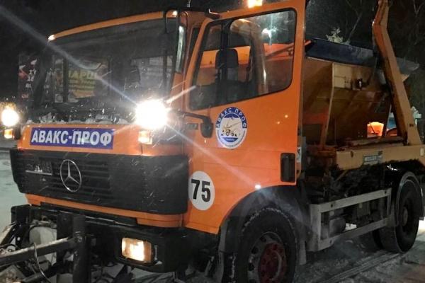 Впродовж ночі дороги Тернополя посипали протиожеледними сумішами