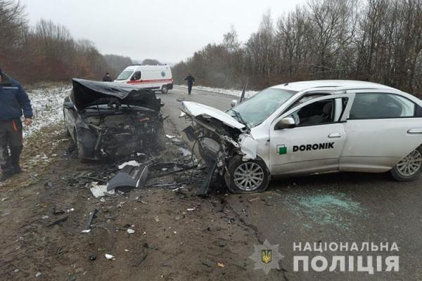 ДТП: на Тернопільщині не розминулися два автомобілі