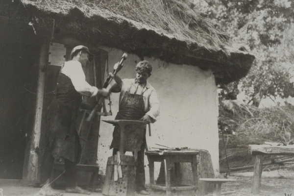Історія Тернопілля: Мешканці Горошової на фото 1930-х років