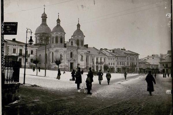 Місто Бережани на столітніх фото