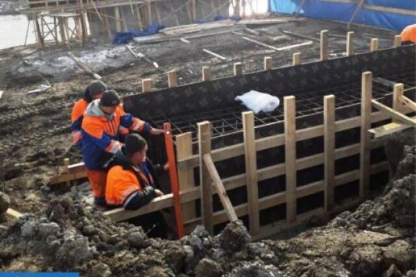 В Лисівцях триває капітальний ремонт мосту у через річку Серет