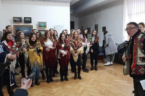 Етнографічний концерт став святочним зачином прийдешніх свят