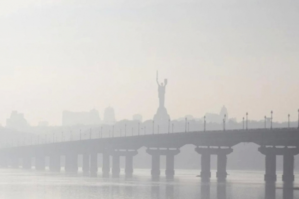 У Києві фіксують підвищений рівень забруднення повітря