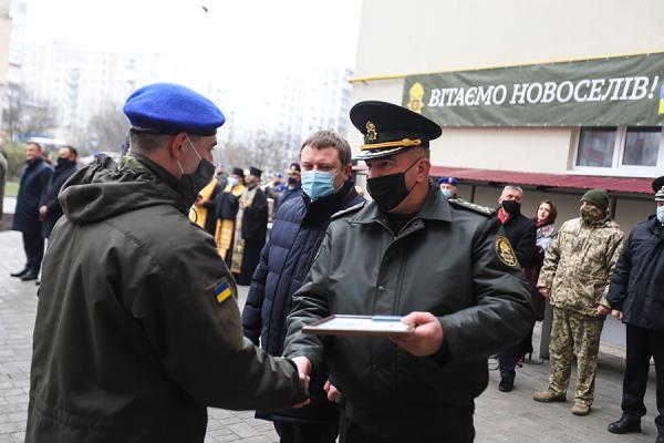 Нацгвардійці отримали квартири у новобудові Тернополя