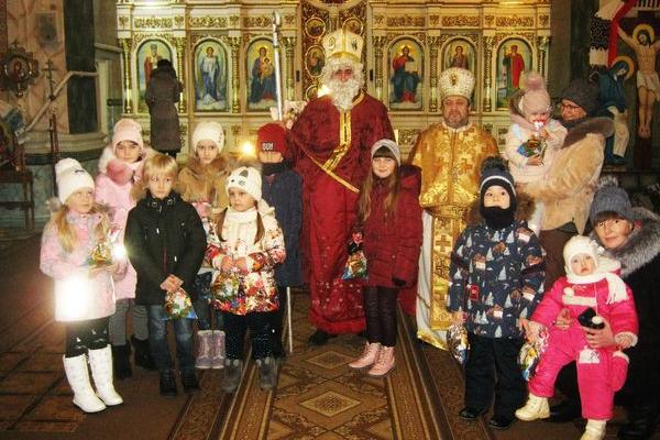Свято Святого Миколая в ПЦУ Святого рівноапостольного князя Володимира Теребовлі, що на Тернопільщині
