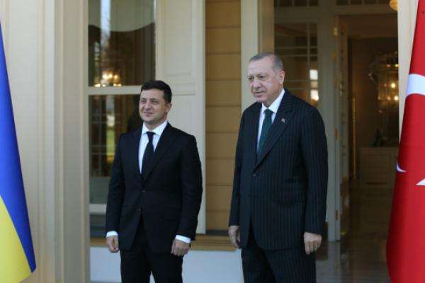 Зеленський вітає новий формат «квадрига» і запрошує Ердогана до Києва