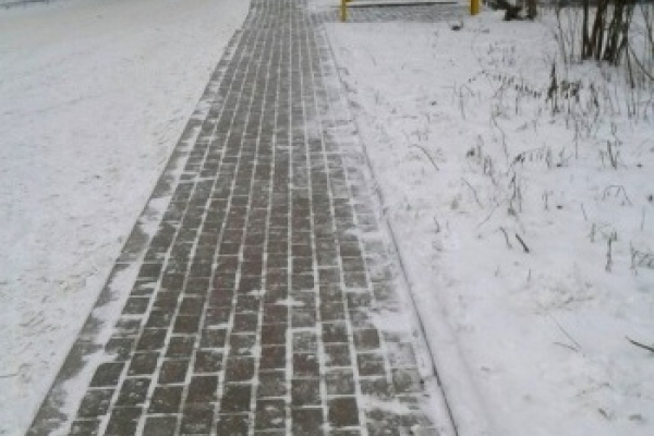Впродовж ночі вулиці та дороги Тернополя очищали від снігу