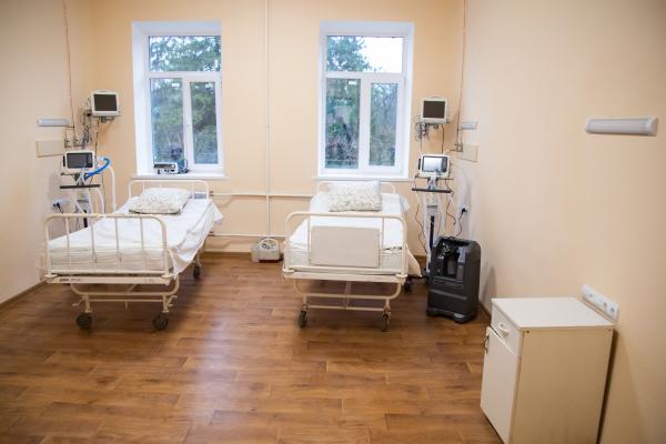 У Тернопільській університетській лікарні відкрили корпус для пацієнтів хворих на COVID-19