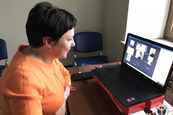 У Тернопільському міськрайонному центрі зайнятості відбувся вебінар з дев'ятикласниками