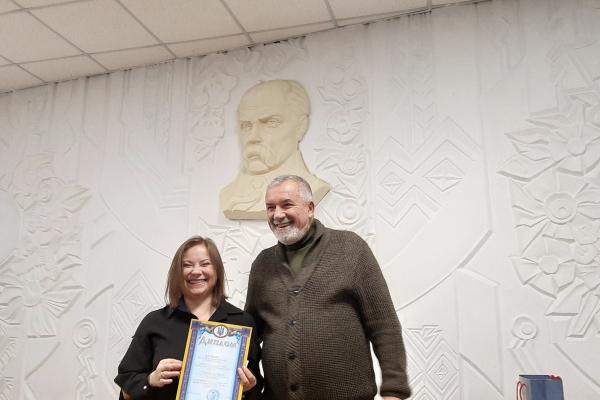 Лавреаткою обласної молодіжної премії ім. Степана Будного стала Ольга Атаманчук