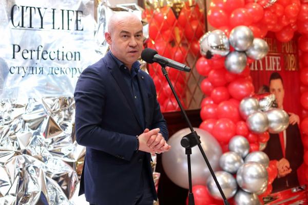Міський голова Тернополя Сергій Надал отримав нагороду «Людина року 2020» від журналу «City Life»