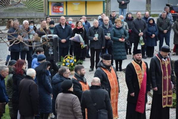 На Тернопільщині вшанували пам'ять Степана Бандери