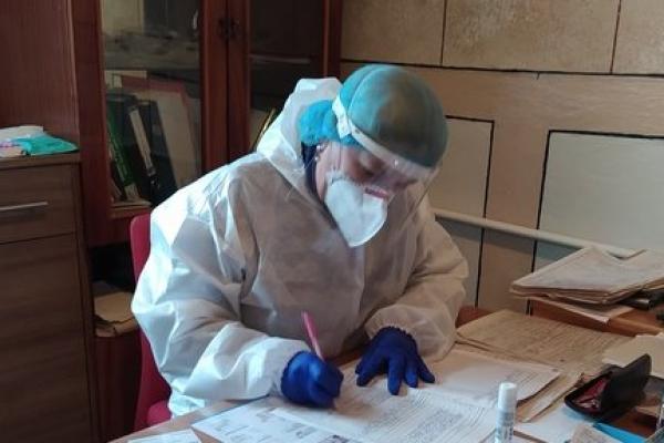 Із початком пандемії лікарці з Тернопільщини довелося змінити свій фах