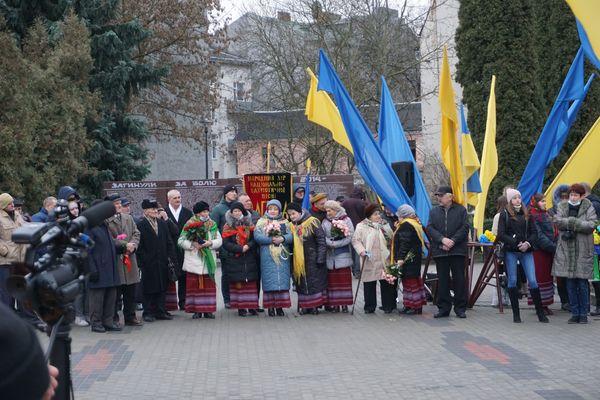 Представники влади, органів місцевого самоврядування, громадських організацій, жителі міста вшанували пам`ять Степана Бандери