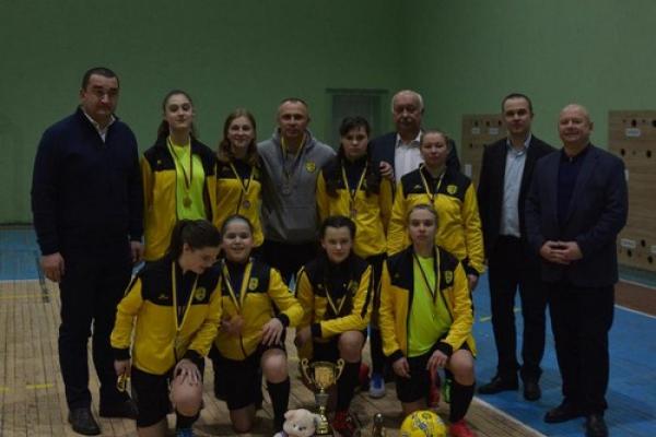 Тернопільські дівчата перемогли на турнірі з міні-футболу