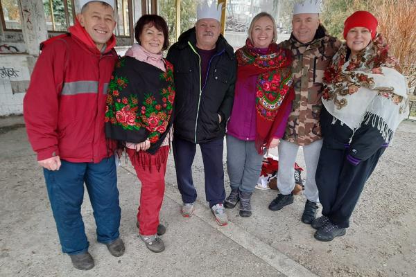 У Тернополі прихильники моржування влаштували на свята заплив