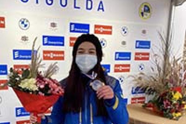 Спортсменка з Тернопільщини стала бронзовою призеркою чемпіонату Європи