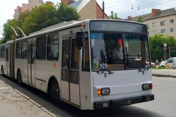 У Тернополі внесли зміни у розклад руху тролейбусів