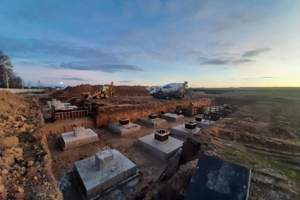 «Контінентал Фармерз Груп» розпочала будівництво нового картоплесховища