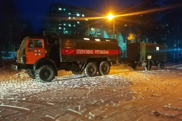 У Тернополі розгорнули пункт обігріву