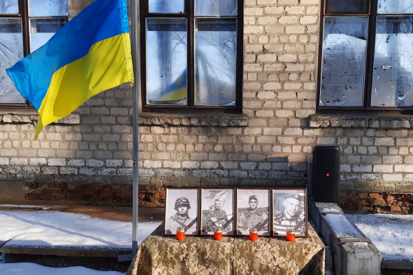 Тернопільські військовослужбовці вшанували пам'ять полеглих Героїв