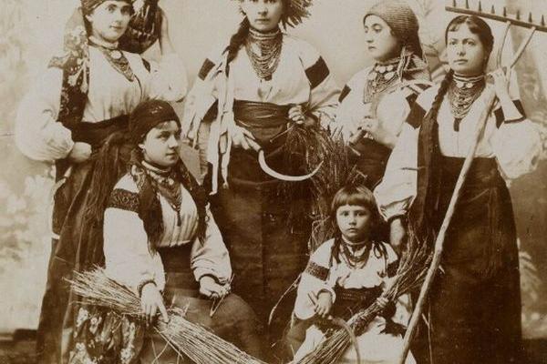 Мешканці Галичини на світлинах 1890-х років
