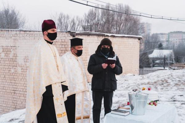 У Тернополі освятили воду на водопровідних насосних станціях