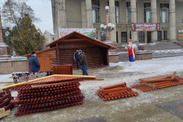 У Тернополі демонтували шопку