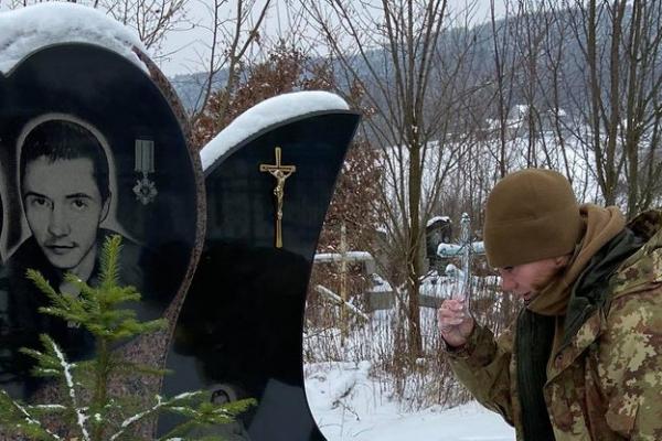 На Тернопільщині вшанували пам'ять кіборга В'ячеслав Мельника