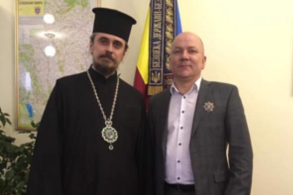 Начальника СБУ Тернопільщини нагородили орденом Святого Архістратига Михаїла