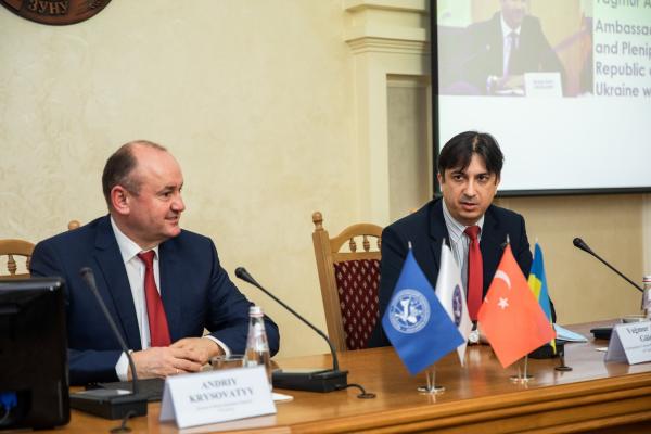 Делегацію з Республіки Туреччина зустрічали в університеті Тернополя