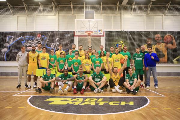 Великі та маленькі зірки на баскетбольному святі в Тернополі